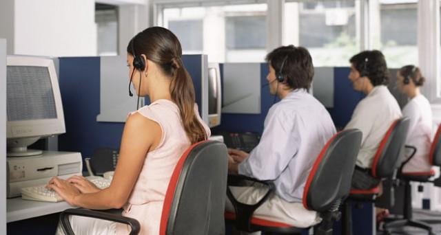 Operatori addetti al call center