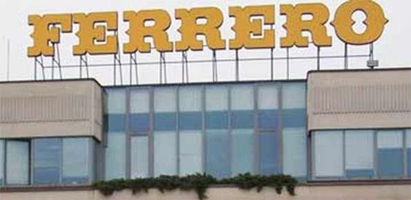Ferrero careers: Assunzioni 2019