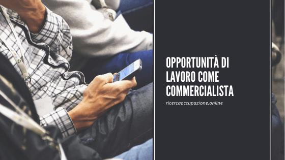 Opportunità di lavoro come commercialista
